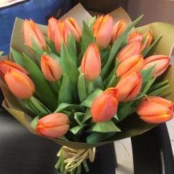 Букет «19 тюльпанов»